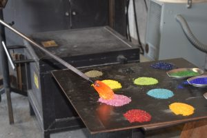 Playing with Fire @McFadden Glass Art