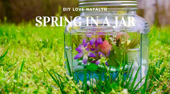 Spring In A Jar ~ DIY