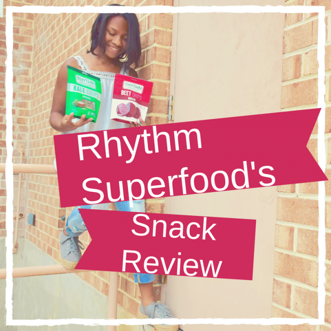 Review of Rhythm Superfoods Snacks