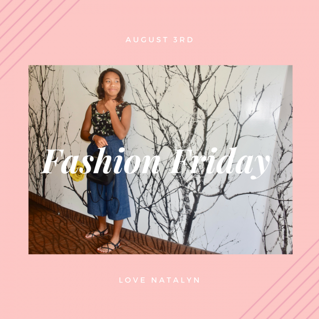 Fashion Friday ~ August 3rd