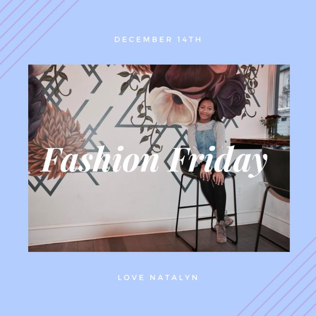 Fashion Friday ~ December 14th