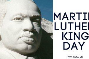 Happy MLK Day!