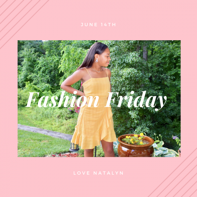 Fashion Friday ~ June 14th