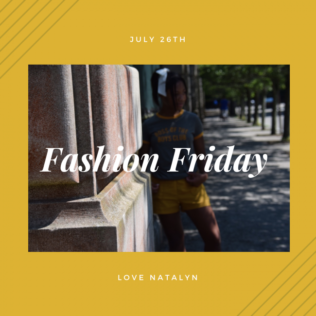Fashion Friday ~ July 26th