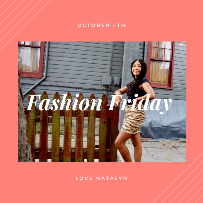 Fashion Friday ~ October 4th