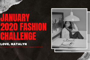 January 2020 Fashion Challenge