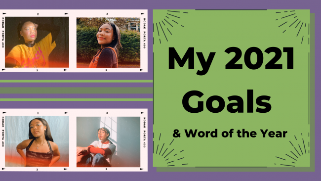 2021 Goals & Word of the Year
