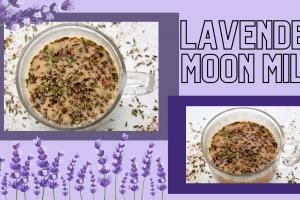 Lavender Moon Milk Recipe