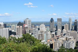 Mont Royal Park in Montreal, Canada