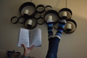 Happy Sock Sunday – March 26th & Book Review: When You Reach Me by Rebecca Stead