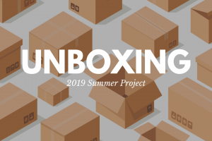 My 2019 Summer Project: Revealed