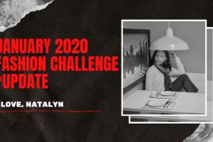 January 2020 Fashion Challenge *Update*